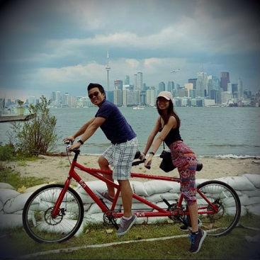 Dr. Dinh biking